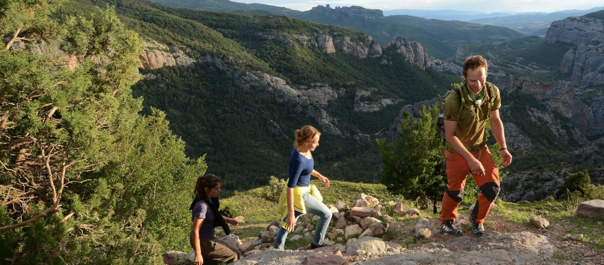 guided hiking route boumort pyrenees