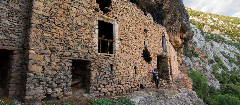 landscape cave espluga boumort pyrenees