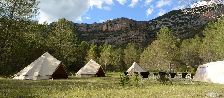 mountain camp boumort pyrenees