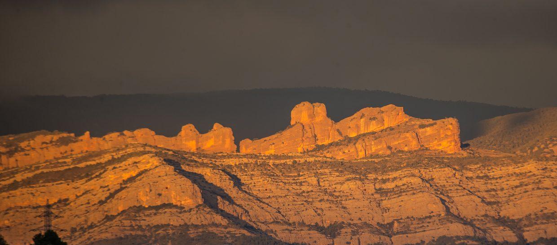 rocky mountains boumort sunset pyrenees