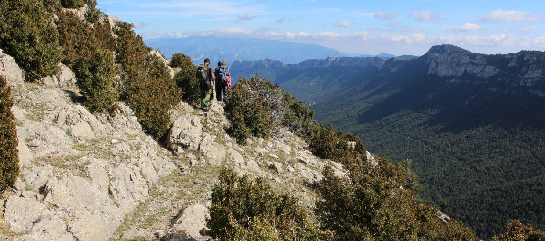 landscape boumort hiking pyrenees
